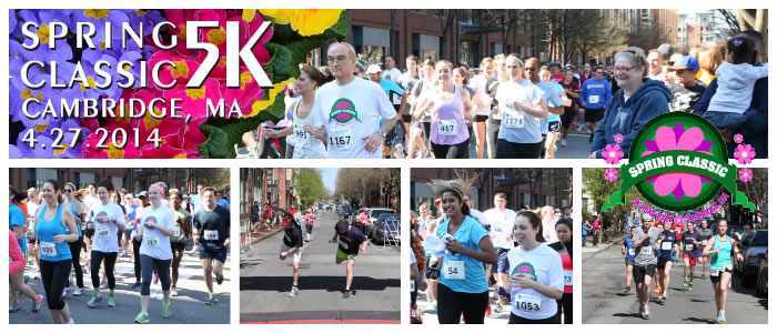 The Spring Classic 5K in Cambridge